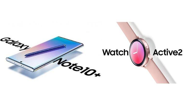 samsung, samsung galaxy, samsung galaxy note 10+, galaxy note 10+, watch active 2, official renders, galaxy note 10+ official renders, watch active 2 official renders, galaxy note 10+ launch, galaxy note 10+ launch in august, galaxy note 10+ global launch