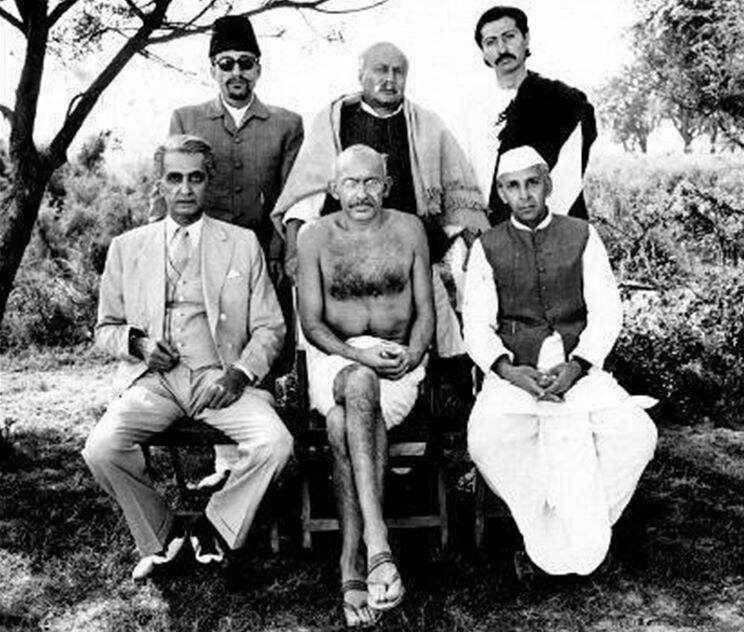 gandhi film photos