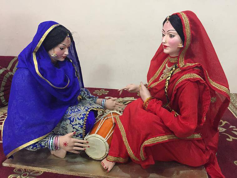 guddiyan patoley, traditional Punjabi dolls, Davinder Kaur Dhatt, indian express