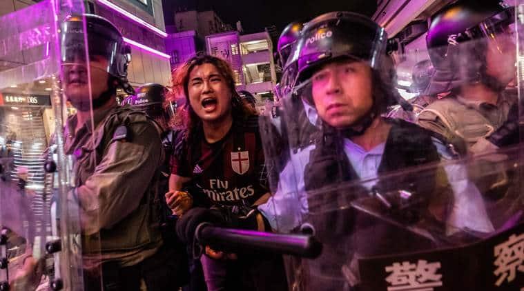 Hong Kong, Hong Kong protests, Hong Kong demonstration, Hong Kong extradition bill, Extraditions to Mainland China, Carrie lam, Indian express news, Hong Kong News, Latest news