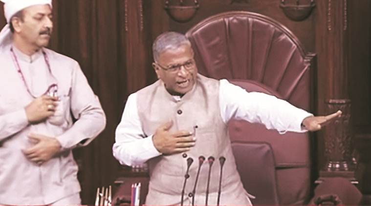 Sonbhadra, Karnataka row echo in Upper House