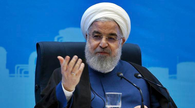 rouhani hints at compromise, iran president hassan rouhani, british-flagged tanker, us-iran relations, world news, indian express