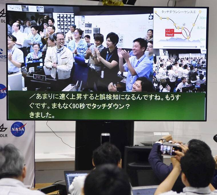 hayabusa2, hayabusa2 japan, japan hayabusa2 spacecraft, hayabusa2 spacecraft, jaxa, japan aerospace exploration agency, science news, tech news, Indian Express