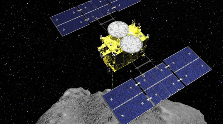 hayabusa2, hayabusa2 japan, japan hayabusa2 spacecraft, hayabusa2 spacecraft, jaxa, japan aerospace exploration agency, science news, tech news, Indian Express