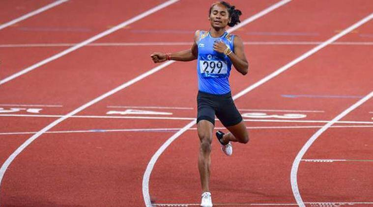 Hima Das: 'An unstoppable run to remember'