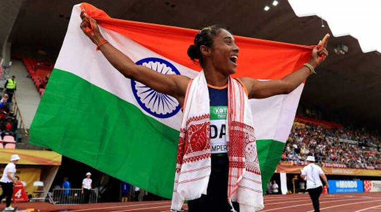 President Kovind, PM Modi congratulate Hima Das for dream run in Europe