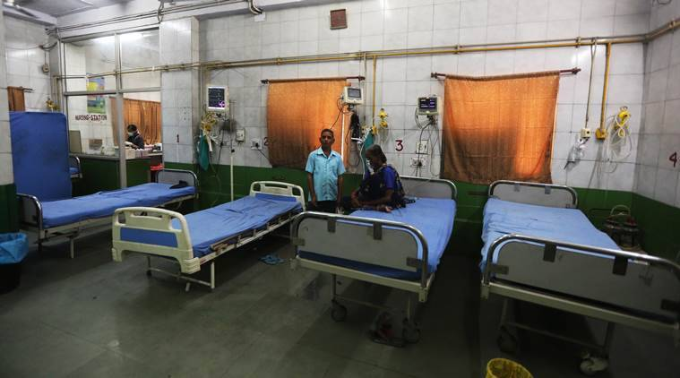 In Delhi, the share of private Covid beds occupied is double that in govt hospitals