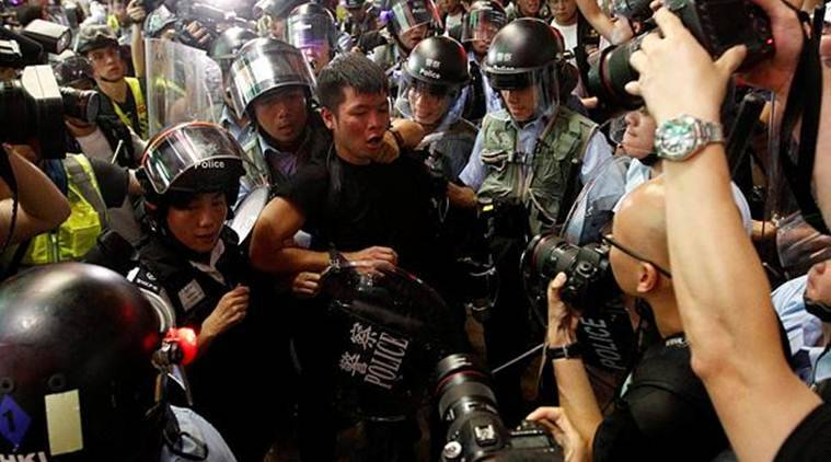 China alleges US' hand in Hong Kong protests