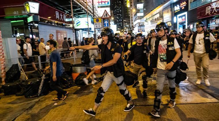 Hong Kong protesters are fueled by a broader demand: More Democracy