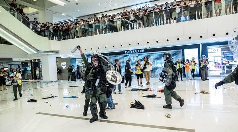 hong kong protests, protests in hong kong, tvb, television broadcasts attacked, television broadcasts station attacked, tvb office attacked in china, china