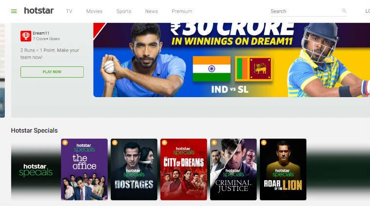 Hotstar, Amazon Prime Video, SonyLIV, Netflix, Voot, Zee5
