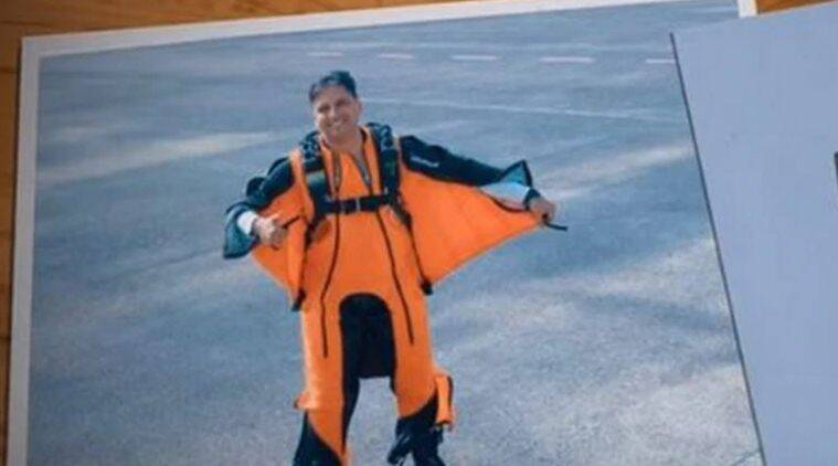 Wing Commander Tarun Chaudhri becomes first IAF pilot to complete wingsuit skydive jump