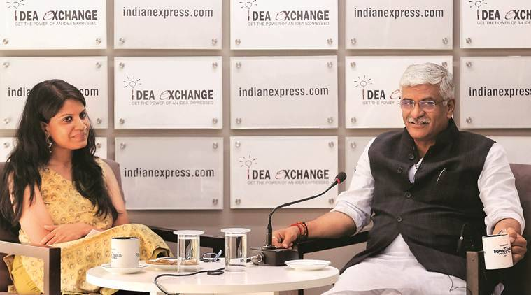 Jal Shakti Minister, Gajendra Singh Shekhawat, water minister, water minister gajendra singh shekhawat, union minister gajendra singh shekhawat, rivers in india, indian rivers, river pollution in india, idea exchange, Indian Express