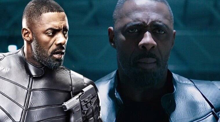 Idris Elba in Hobbs and Shaw film with Dwayne Johnson
