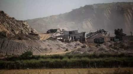 illegal mining Chandigarh, Chandigarh illegal mining, New Chandigarh illegal mining, illegal mining New Chandigarh, India news, Indian Express