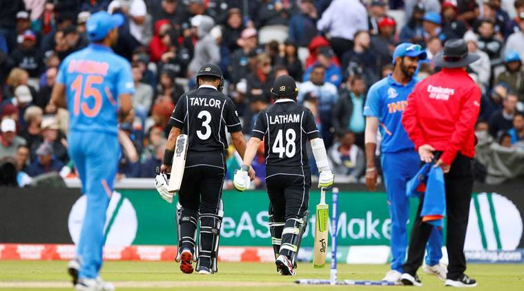 New Zealand stun India by 18 runs to reach World Cup final