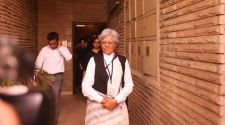 indira jaising, raids at indira jaising house, anand grover, mha case against indira jaising, foreign funding cases, bombay high court