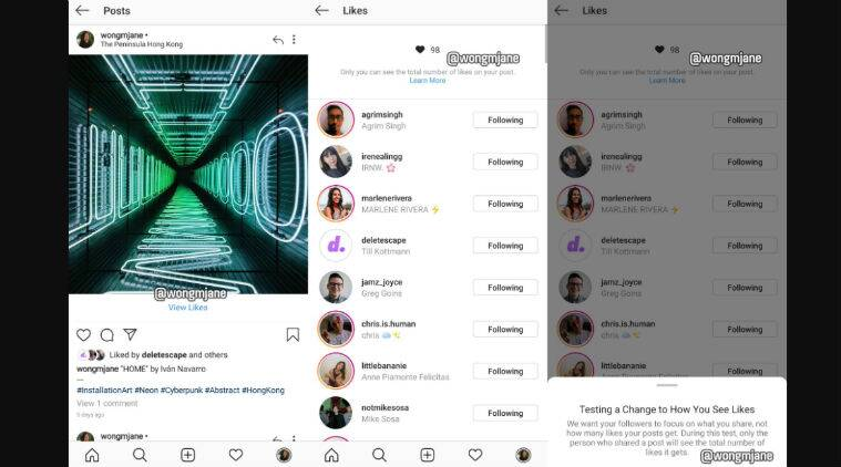 Instagram confirms it is testing hide Like counts feature in more countries