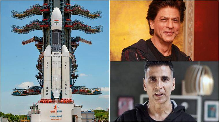Shah Rukh Khan, Akshay Kumar, Vidya Balan and others celebrate successful launch of Chandrayaan 2