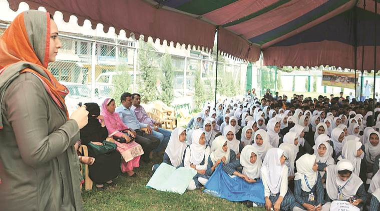 Only J&K woman DC helps girls over period bar, into class