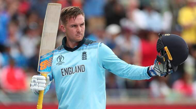 Cricket World Cup, Cricket world Cup 2019, ICC, England, Jason Roy, Jason Roy, Eng vs Aus Eng vs NZ, England vs New Zealand, Indian Express