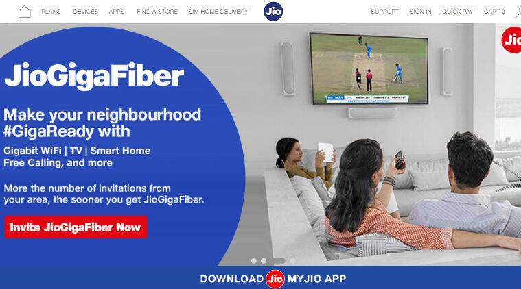 Reliance Jio GigaFiber: Entry-level Rs 2500 plan, Triple Play plan and more to expect on Aug 12