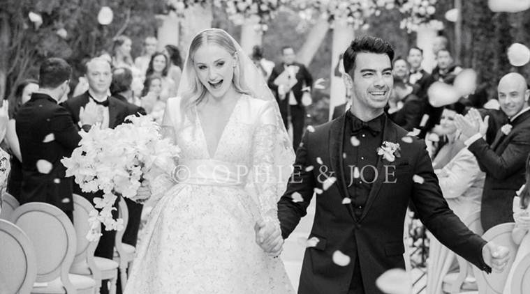 First photo of Joe Jonas and Sophie Turner's wedding is every bit