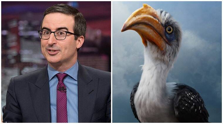 The Lion King Actor John Oliver See British Echoes In Zazu