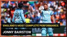 England's most complete performance , says Jonny Bairstow after India win