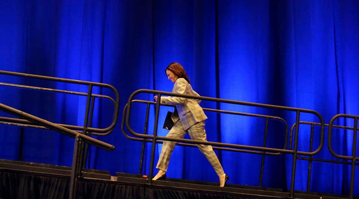 Kamala Harris, US women, Us elections 2020, Joe Biden, Sexism, Ugly attacks on Kamala Harris, Indian express