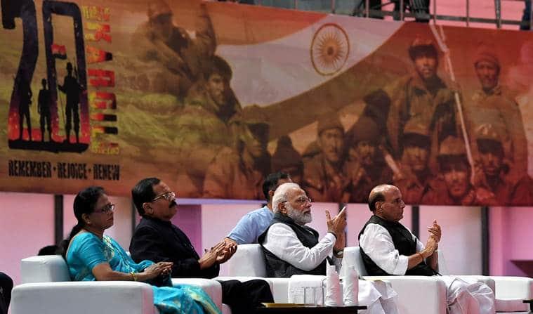 Narendra Modi kargil diwas, PM Modi kargil diwas, kargil war, Vijay Diwas, kargil vijay diwas, Indian Army, Rajnath Singh