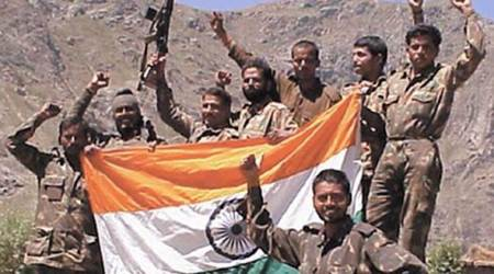 Kargil war, kargil war 1999, kargil vijay diwas, india gate, tributes kargil war, indian express