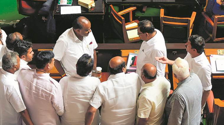 Karnataka faceoff: Governor's 2nd deadline passes, Speaker fixes Monday for trust vote