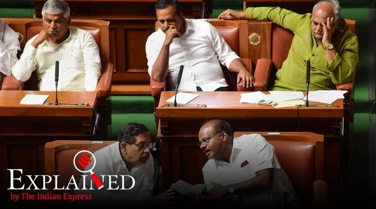 Karnataka crisis: What's a 'whip', and what does it do?