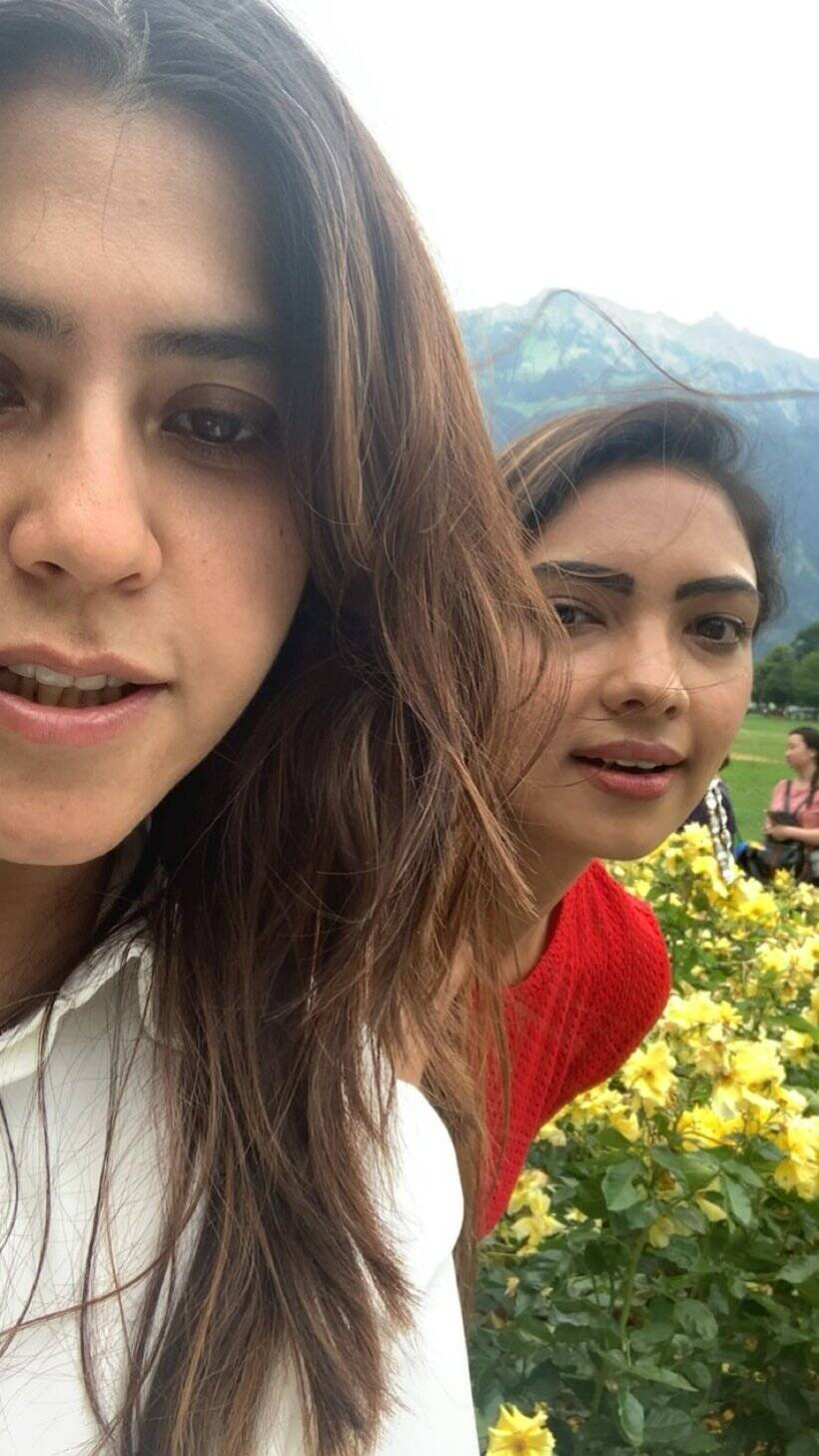 ekta kapoor in switzerland