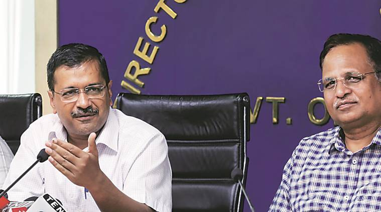 Clear Centre's draft note on unauthorised colonies: CM Kejriwal to ministers