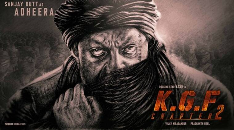 KGF 2 first look: Sanjay Dutt to play Adheera in Yash starrer ...