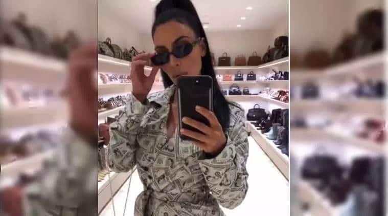 kim kardashian, kim kardashia sunglasses, kim kardashian plagiarism, kim kardashian sunglass range, diet prada kim kardashian plagiarise, indian express, indian express news