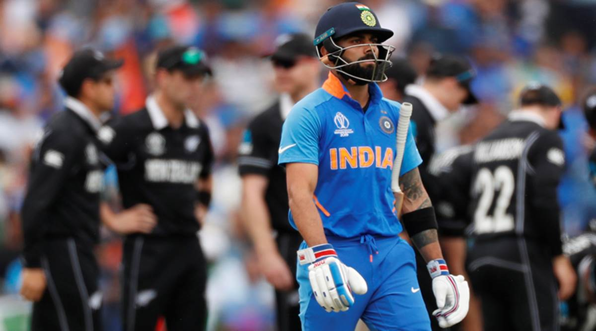 IND vs NZ Semi-Final: India register lowest powerplay score in World Cup  2019 | Sports News,The Indian Express