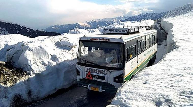 Five pilgrims injured as glacier collapses in Kullu