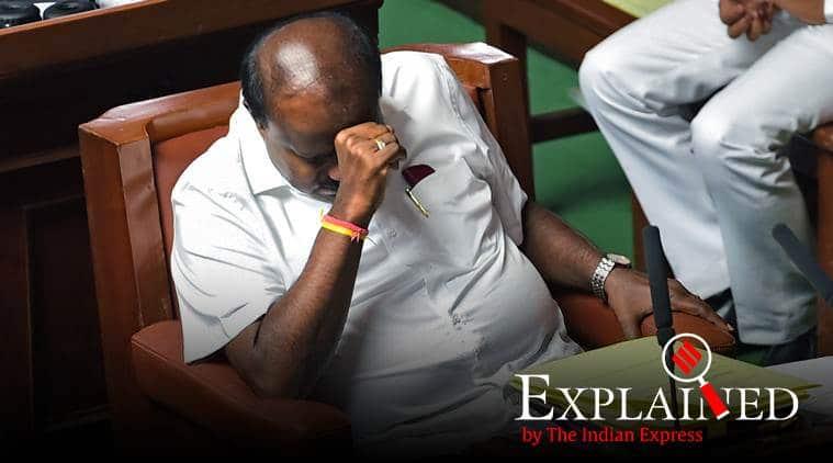 Karnataka political crisis, anti defecation law, Kumarswamy, Yeddyurappa, BJP, Congress, JDS