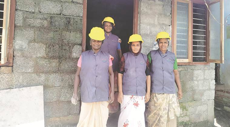 Kumbalangi days: Kerala self-help network trains, rolls out all-women construction teams