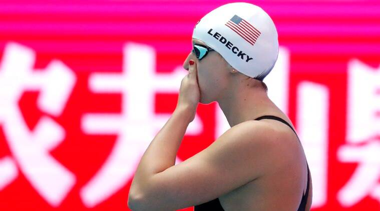 Illness forces 14-time world champion swimmer Katie Ledecky to withdraw from 2 events at Worlds