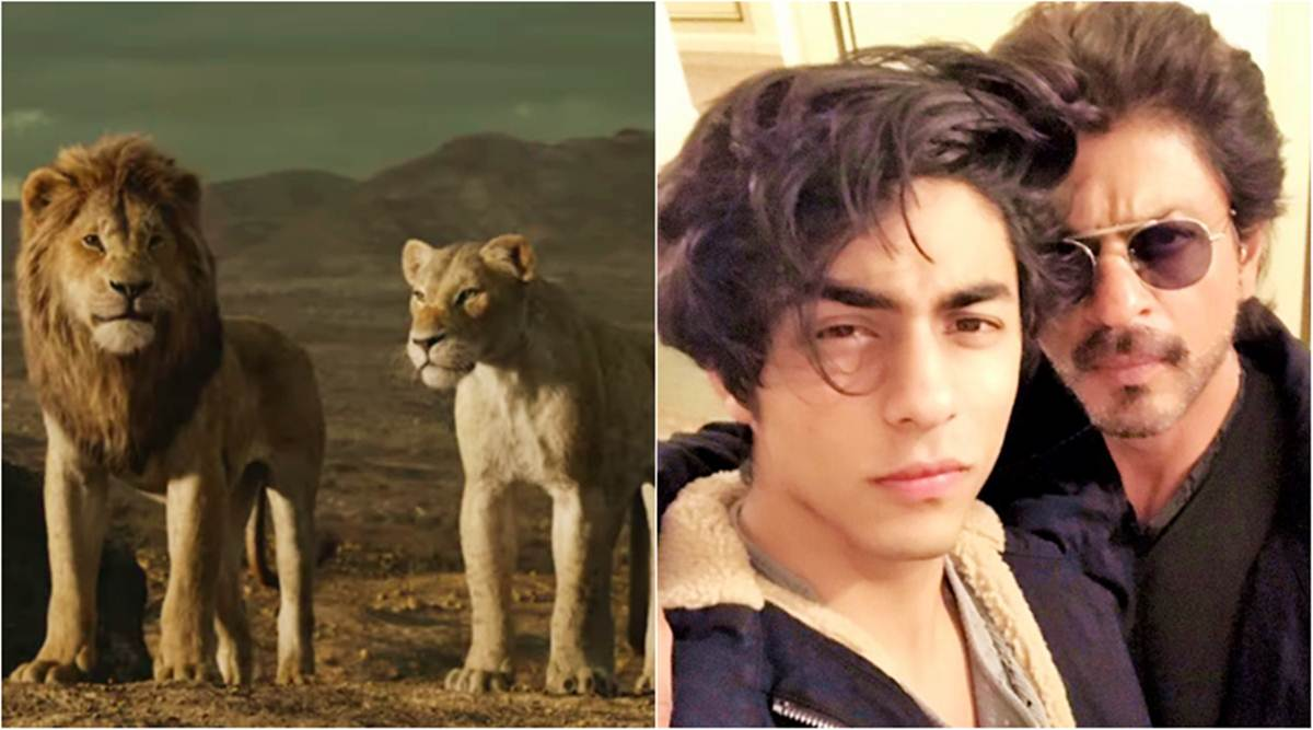 Shah Rukh Khan On Aryan Dubbing For The Lion King Doesn T His Voice Sound A Bit Familiar Entertainment News The Indian Express