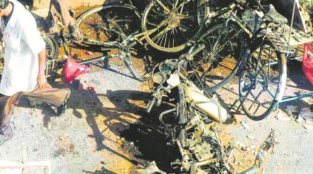 Pragya's motorcycle, used in Malegaon blast, brought to trial court