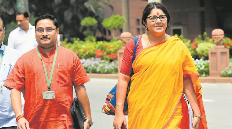 Locket Chatterjee, BJP MP, COronavirus positive, Kolkata news, Indian express ness