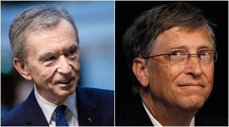 Bill Gates Overtaken on List of World's Richest People