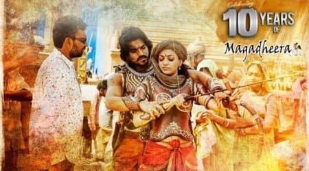 Magadheera film, 10 years of Magadheera, SS Rajamouli, Ram Charan, Kajal Aggarwal, SS Rajamouli films, Ram Charan films, Kajal Aggarwal films, Magadheera SS Rajamouli