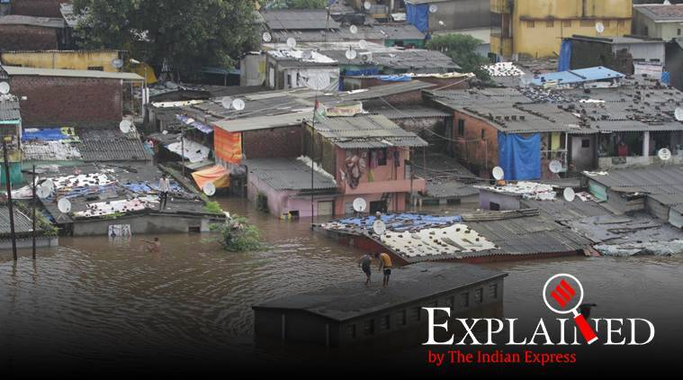 Mumbai rains, maharashtra rains, mumbai flooding, maharashtra flooding, mumbai outskirts, indian express express explained