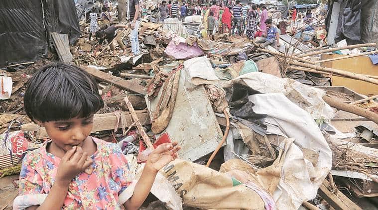 malad wall collapse, malad mishap, malad accident, malad hill reservoir, malad wall collapse probe, bmc, mumbai news